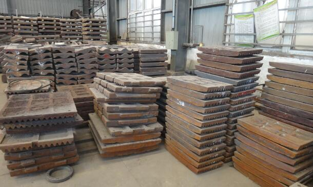 jaw crusher swing wear plate