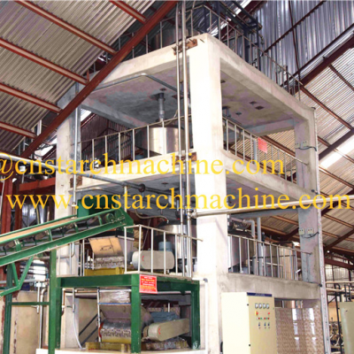 cassava starch machinery