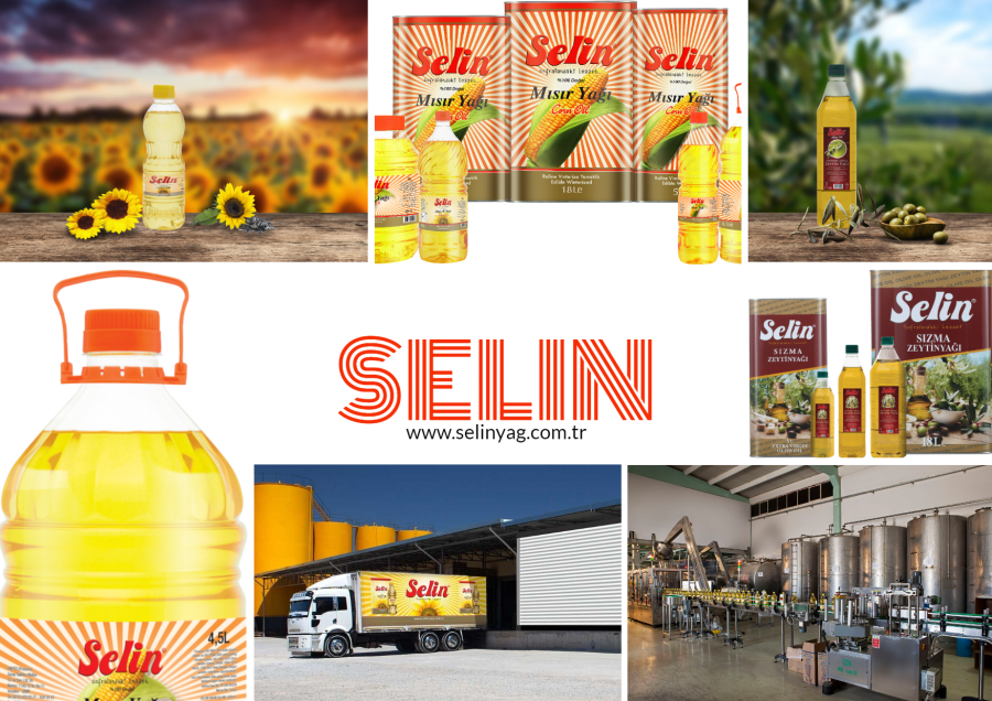 Selin Cooking Oil Product Range