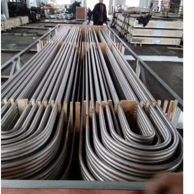 Titanium U tubes Gr.2 manufacturer from China application in heat exchangers.
