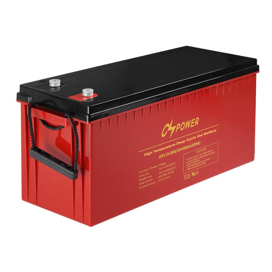 12v 200ah deep cycle gel battery