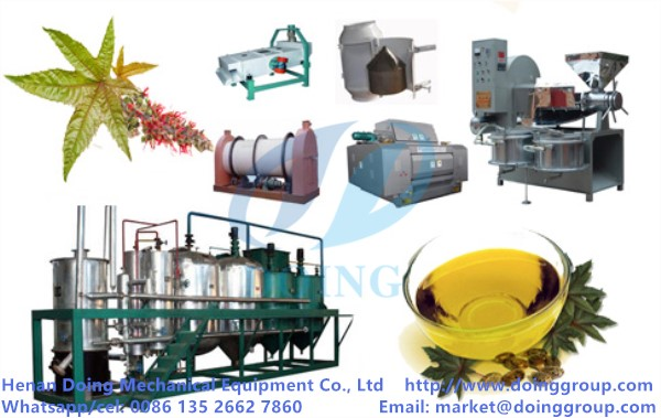 castor oil mill machinery