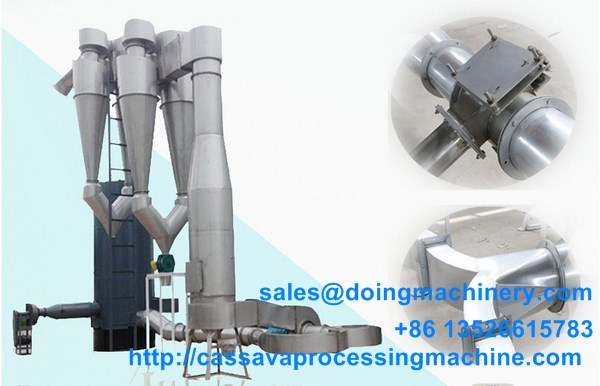 Cassava starch drying equipment