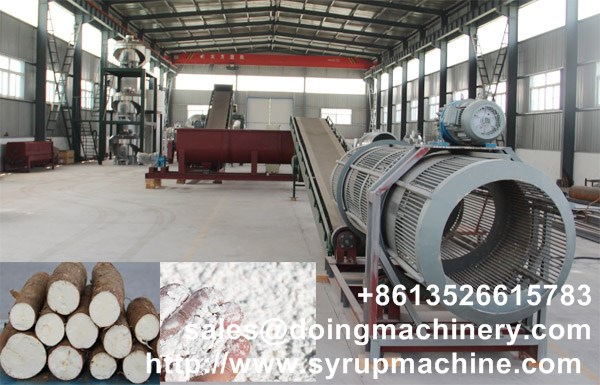 Cassava flour production machine delievry to Ghana