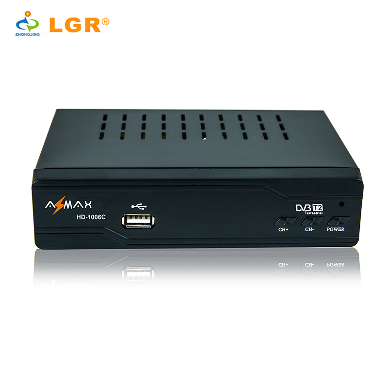 DVB-T2 HD terrestrial receiver sopport Multi-lingual for Russia market