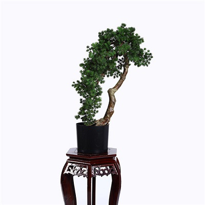 Artificial Buddhist Pine Tree Bonsai