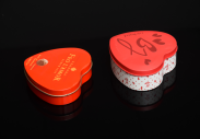 OEM Heart-shaped Chocolate&Candy packing tin box