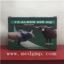 Veterinary parasite medicine Albendazole Ivermectin tablet/bolus for cattle sheep