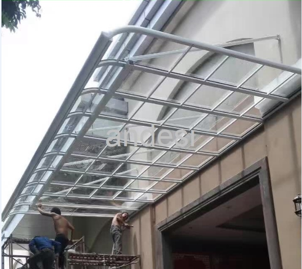 clear roof shelter