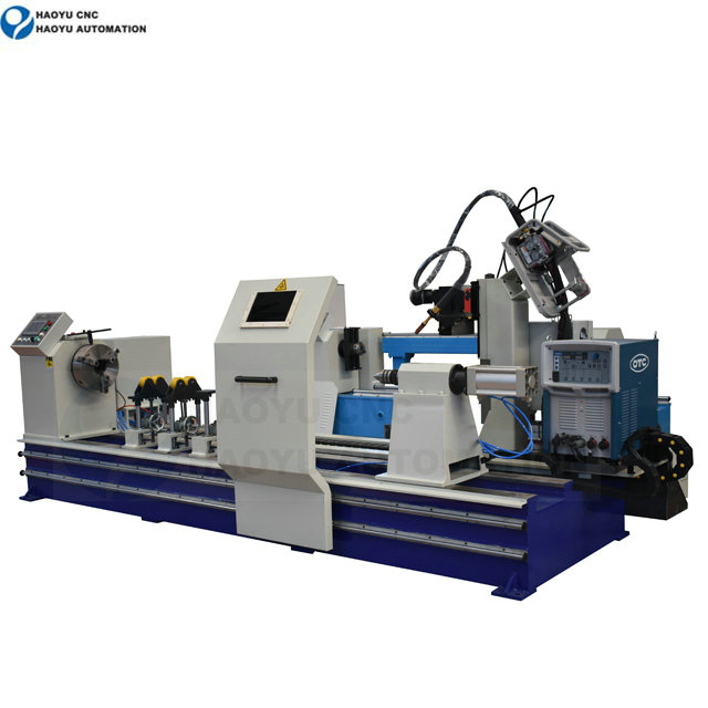 Piston rod automatic welding machine