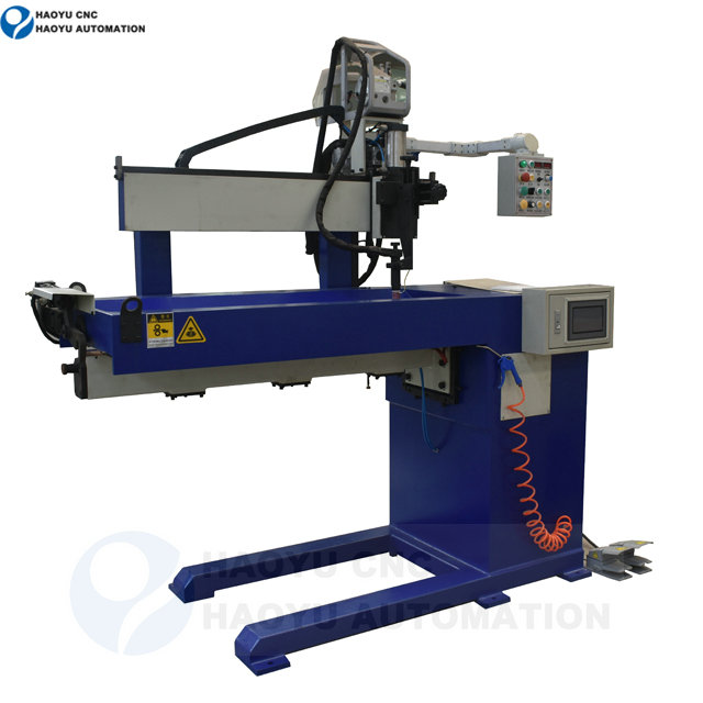 Longitudinal Argon TIG automatic welding machine