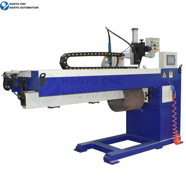 Longitudinal seam automatic welding machine