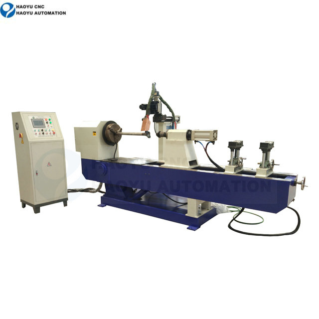 Automatic cylinder and shaft welding machine
