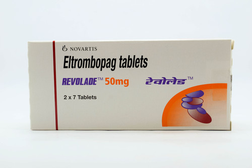 Buy Revolade 50 mg Eltrombopag Tablets Online From India at Best Price