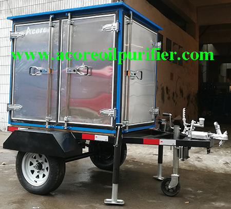 Portable Transformer Oil Filtration Machine Manufacturer