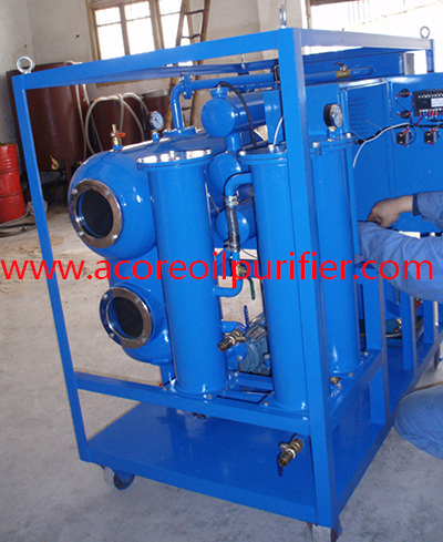 Waste Hydraulic Oil Filtration, Flushing and Recycling Machine