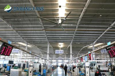 24ft 7.3m big size low power industrial hvls ceiling fans