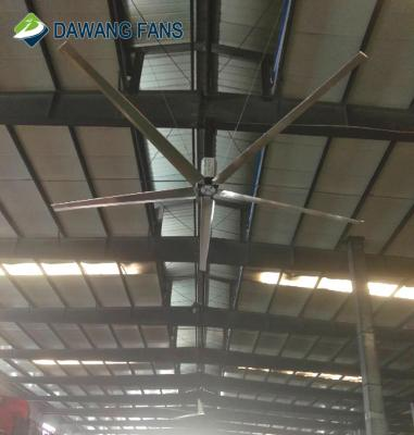 16'/18'/24'  low noise big Industrial ceiling fan for ventilation