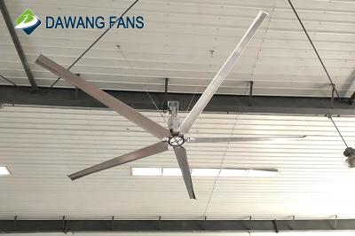 new Technology Gearless DC Motor Large Hvls Industrial Ceiling Fan
