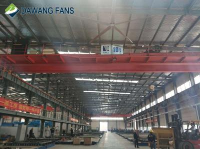 High-volume energy saving industrial big ceiling hvls fan