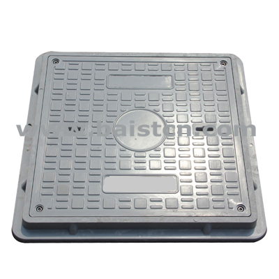 Gas Station High Strength Round Type 600x600mm B125 Manhole Cover